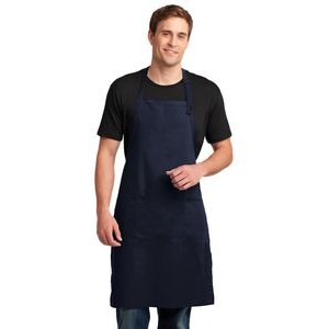 Port Authority® Easy Care Extra Long Bib Apron w/Stain Release