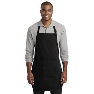 Port Authority® Full-Length Two-Pocket Bib Apron